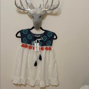 THML beautiful embroidered top